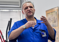 ''Interview with physiotherapist Aco Zanev''